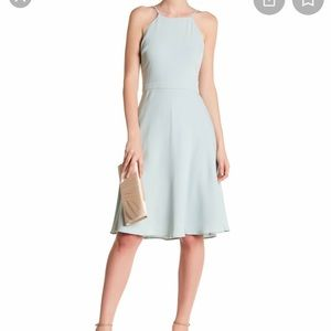 J.Crew Dusty Shale Bridesmaid Dress